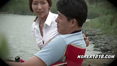 korean girl outdoors wants horny