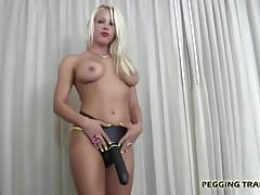 I am going to fuck your whore mouth with my strapon
