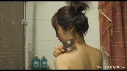 Bae Seul boobs show