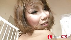 Squirting fountain japanese milf in the kitchen