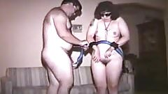 husband plays with his slave wife
