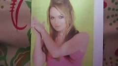 Lindsay Lohan Cum Tribute 6