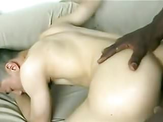 Preview 3 of Horny Black Dude With Huge Cock Hot For Sweet Asian Ass