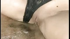 Short Hair Lingerie Bathing