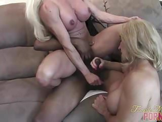Preview 1 of After A Good Muscle Fuck Cums The Handjob