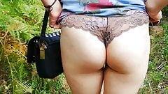 Slut expose ass