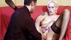 Hardcore Fisting With Two Hands In Hot Blonde