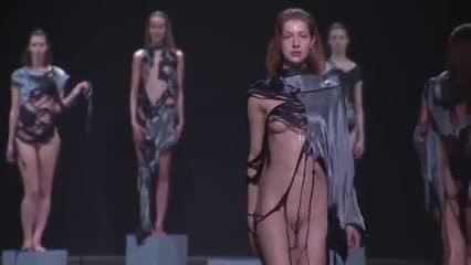 Fashion show topless