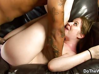 Preview 5 of White girl lets a black guy fuck her while her husband watch