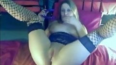 Horny Chubby Teen Ex GF playing with her Pussy on Cam
