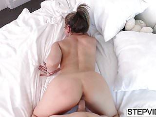 Preview 2 of Stepmom Carmen Valentina seducing her stepson