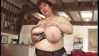 French BBW mature slut Olga