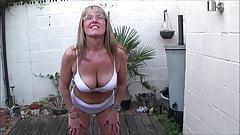 Full Back Knicker's  Outdoor Strip