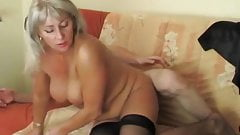 Hot blonde mature hot sex