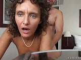 Gorgeous slut cheating her husband in a hotel