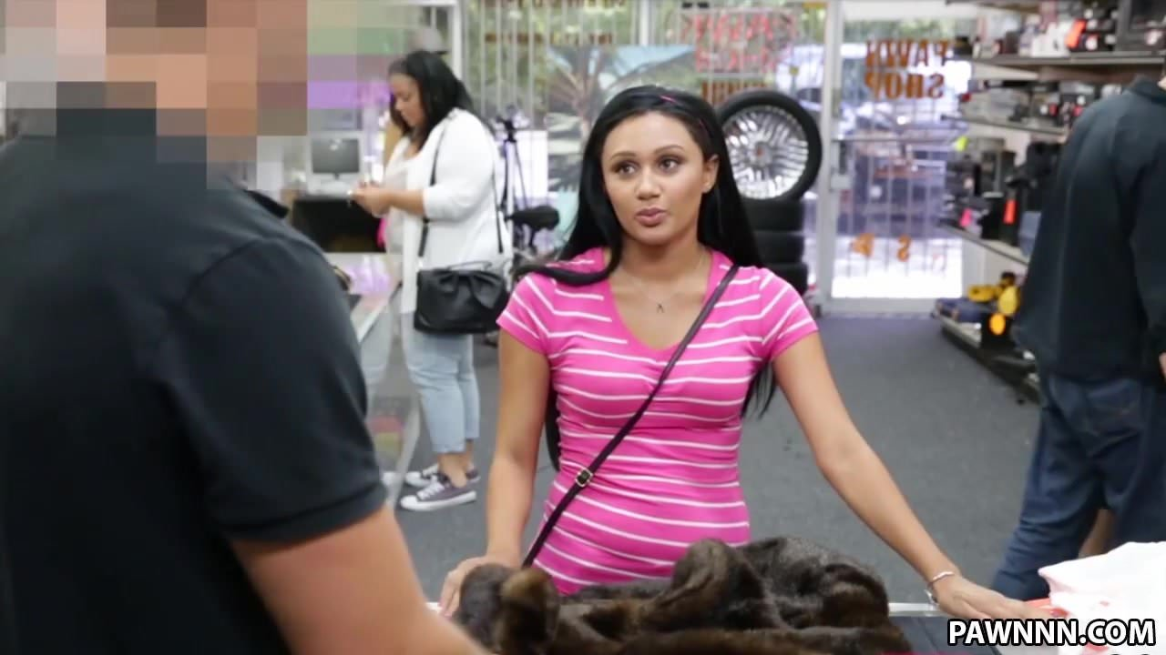 Real pawning babe fucked by pawnbroker pov 2
