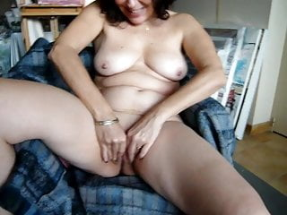 My slut rubbing her pussy in front of cam