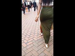 BhamBootyHunter: Candid Booty VPL Thick Ass Cheeks in Skirt