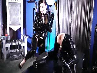 femdom fisting latex