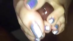 Glitter Toes FJ