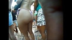 Candid Big Asses Selection - slow motion 2
