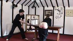 kung fu spanking ..!!