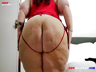 Mature ssbbw with monster ass takes big black cock