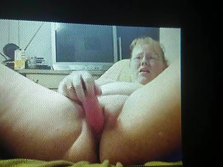 Wife making a video of herself squirting..