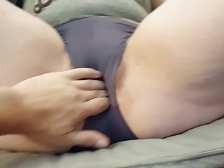Camel Toe Getting Wet In Booty Shorts