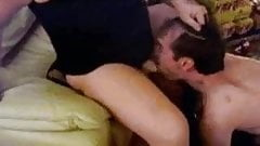Couple strapon on cam