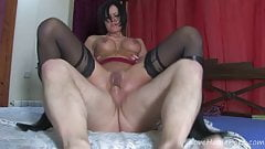 Insatiable Lady Craves Cock In The Ass