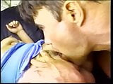 Lucky guy with a giant cock fucks this deep throat teen in her tight asshole