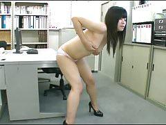 Japanese girl humping 07