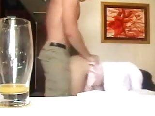 Hot Asian wearing a Miniskirt fucked