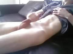 Twink skinny guy cumshot