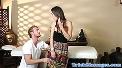 Massage amateur reluctantly su