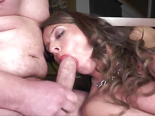 All Holes Stuffed Sexy Susi Saggy Tits German Stockings