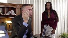 XXXJoX Codi Bryant Busty Ebony Secretary