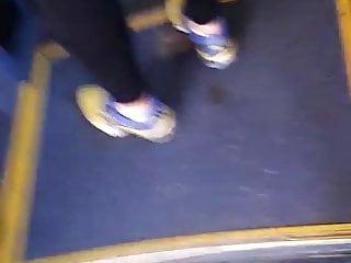 loirinha de leg no busao