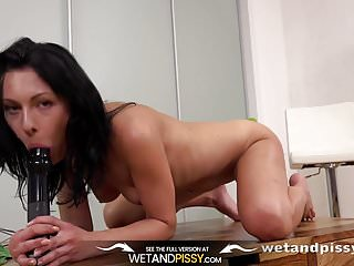 Best Wet Pussy - Kara tastes her golden juices and teases he