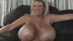 Huge titted MILF Maxi Mounds as a schoolgirl