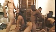 Vintage Shemale Orgy 2