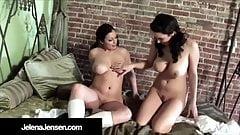 Busty School Girls Jelena Jensen & Aria Giovanni Experiment!'s Thumb