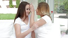 Ayda Swinger and Liza Shay from Sapphic Erotica hot lesbian