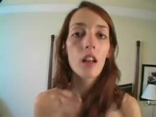 Teen fucks two at the same time