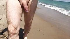 Beach walk in Valencia