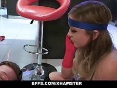 BFFS - SuperHero Teens Fucked on Halloween