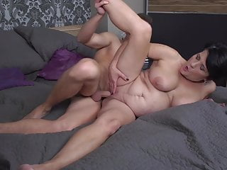 Taboo Sex With Mature Busty Mother And Lucky Son