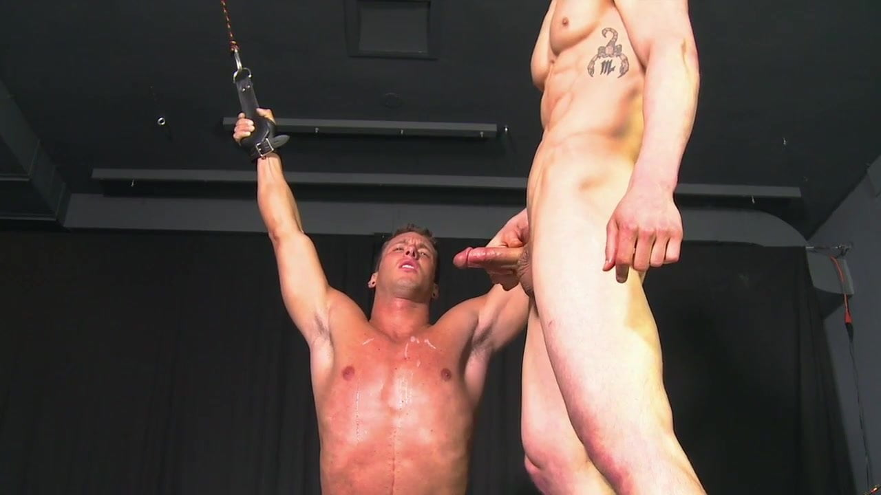 Straight jock sucked by gay lips