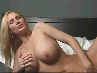 Hot blonde gets down and dirty